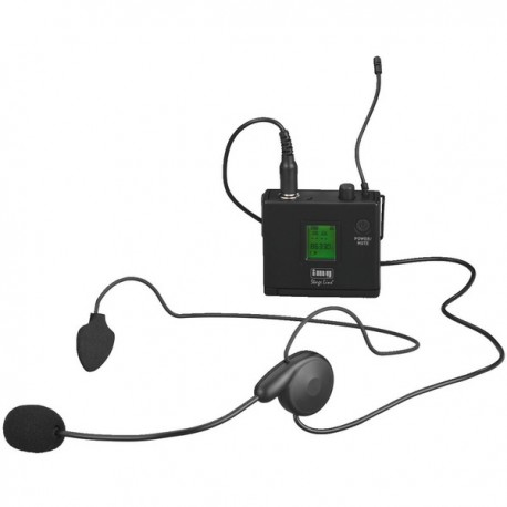 Trasmettitore Bodypack UHF - 16 frequenze PLL