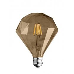 Diamante Edison a Filamento Oro 4W 400lm 2700K
