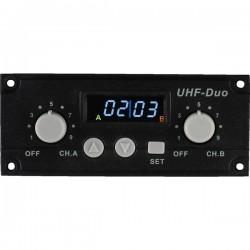 Modulo Ricevitore UHF 16 Frequenze PLL - Doppio Canale